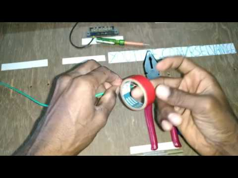 how to connect joint in wire in tamil type -2