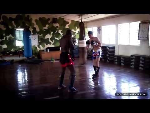 Muay Thai Training - Colosseum Fitness Center - Nairobi, Kenya