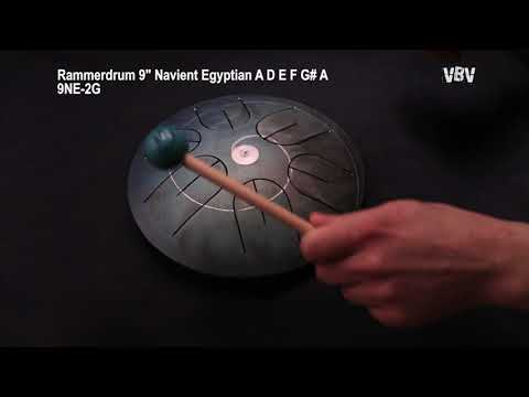 "Tongue Drum 9"" Navient Egyptian 2d Generation video"