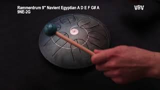 "Tongue Drum 9"" Navient Egyptian 2d Generation video"