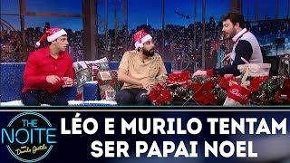 Léo e Murilo tentam ser Papai Noel | The Noite (25/12/17)