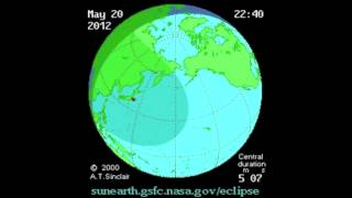 ANNULAR SOLAR ECLIPSE OF 2012 MAY 20