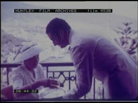 Travel To Madeira, 1950s - Film 9538