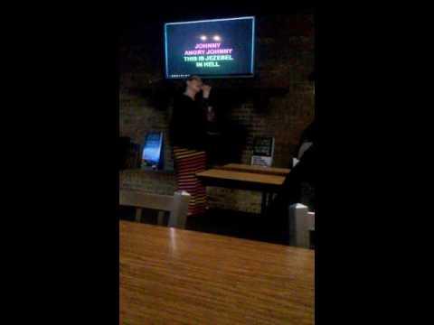 Angry Johnny karaoke by Jenny