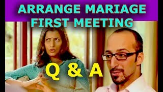 Arrange Marriage First Meeting Questions Answers by Boy & Girl Touching Alertcitizen