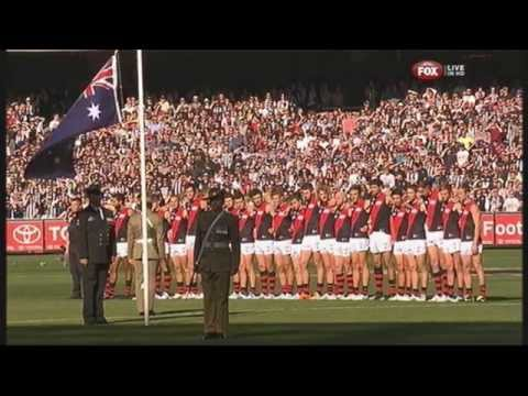 AFL: ANZAC Day 2014 at the MCG.
