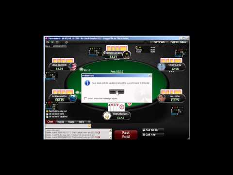 Omaha 8 Poker: Facing an aggressive opponent