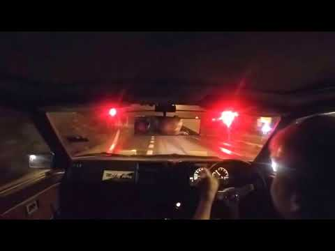 Real Life Takumi Drives AE86 Uphill Touge (Initial D) With Eurobeat
