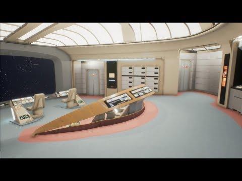 EPIC Virtual Reality Tour of Star Trek TNG Enterprise - Sasha's Computer Build - Part 10