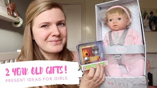 Gift / Present Ideas For A Two Year Old Girl   Lilah's 2nd Birthday Gifts!