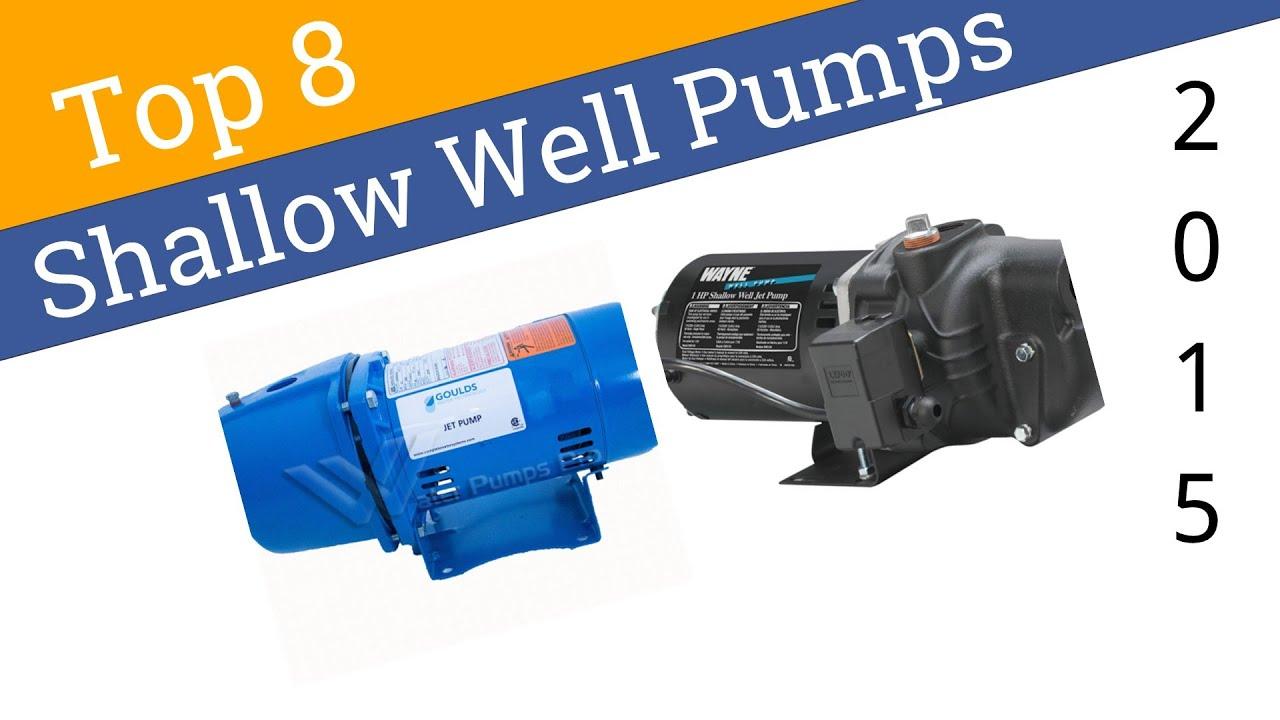 8 Best Shallow Well Pumps 2015