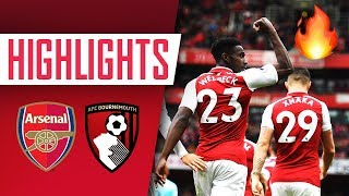 WELBECK'S ON FIRE! Arsenal 3 - 0 AFC Bournemouth | Goals and Highlights