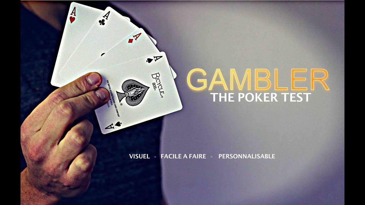 tour de magie gambler