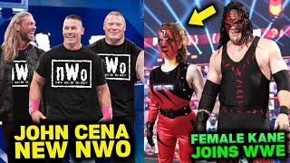 New Female Kane Joins WWE & John Cena NWO Faction With Brock Lesnar & Edge - 5 WWE Rumors 2020