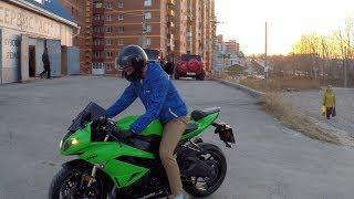 Реакция на новый мотоцикл. Kawasaki ZX-6R
