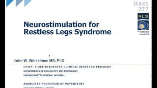 Webinar 2017: Neurostimulation and Restless Legs Syndrome