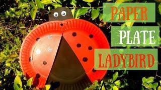 Paper Plate Ladybird | Fun Paper Plate Crafts