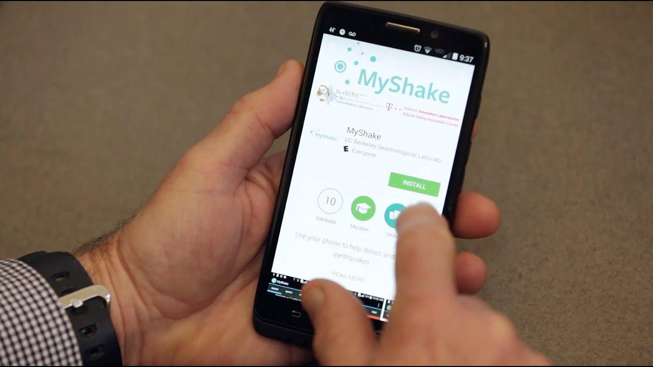 New app turns smartphones into worldwide seismic network
