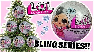LOL Surprise Bling Series  witeczne kule LOL Surprise