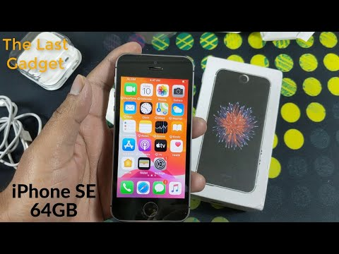 Cell Buddy iPhone SE 64GB Space Grey Unboxing In Hindi 2020 & Price At 10900