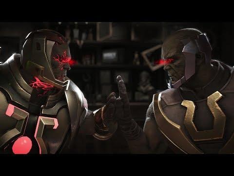 Injustice 2 : Darkseid Vs Darkseid - All Intro/Outro, Clash Dialogues, Super Moves