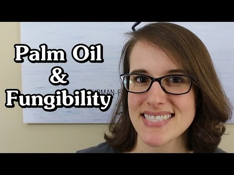 More on palm oil and fungibility (economics 101)