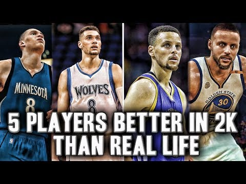 5 NBA Players That Are Better In 2K Than Real Life