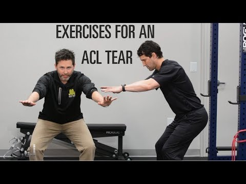 Exercises for an ACL tear to help you recover quickly
