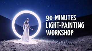 90minutes tube lightpainting workshop! Tube Stories 160