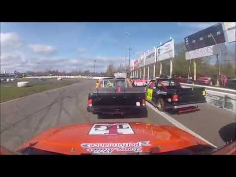 On Board with Danny Jackson | Lincoln Welders 125 - ARCA Truck Series