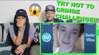 Couple Reacts : Try Not To Cringe Challenge!!!