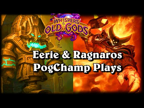 Eerie Statue & Ragnaros PogChamp ~ Hearthstone Heroes of Warcraft Whispers of the Old Gods