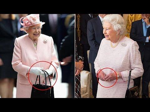 Queen Elizabeth II Secret Hand Signals Explained
