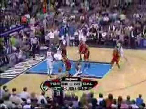 Toronto Raptors vs Dallas Marvericks Nov.20/07