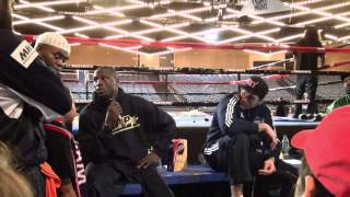 """THINGS GET HEATED - Post Fight Tyson Fury vs Steve """"USS"""" Cunningham - Post fight Press Conference"""