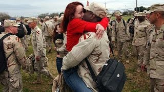 Best Soldiers Surprise Coming Home 2015 Compilations #5