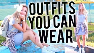 Outfits You Can ACTUALLY Wear To School! Back to School Outfits 2017!
