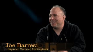 Engineer, Producer, Mix Engineer Joe Barresi - Pensado