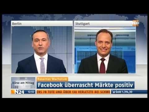Andreas Rapp, Leiter Privat Banking bei Ellwanger & Geiger Privatbankiers, auf n24.
