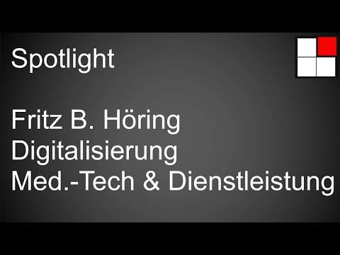Interim Manager Spotlight | Fritz B. Höring | Digitalisierung in Medizintechnik & -Dienstleistungen