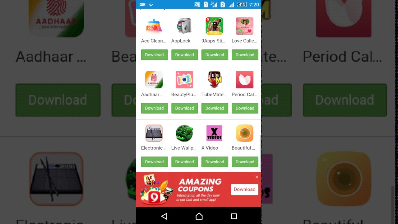 How to download 9 apps