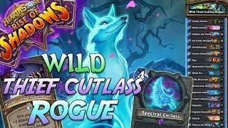 Wild Thief Cutlass Rogue Deck   Rise of Shadows   Hearthstone