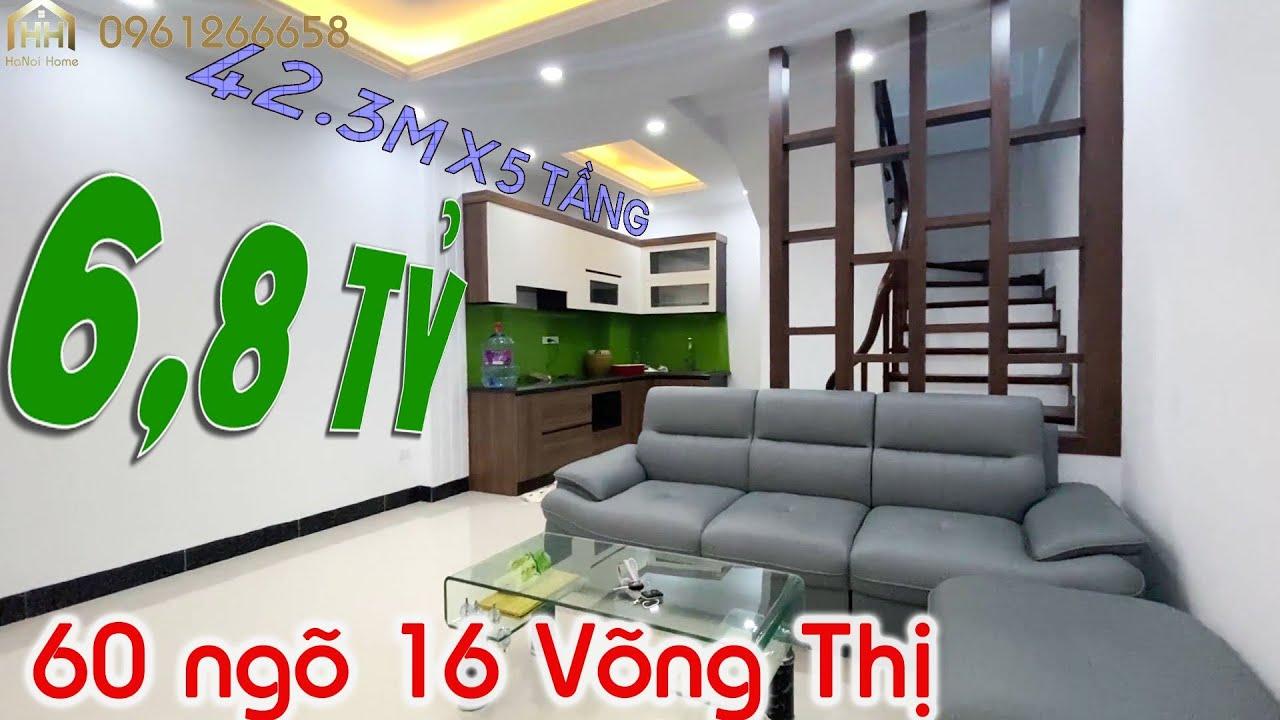 image Bán nhà số 60 ngõ 16 Võng Thị, Tây Hồ, Hà Nội.