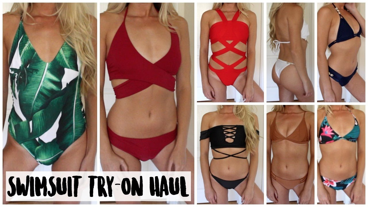 05cc786d68 HUGE Affordable Swimsuit TRY-ON Haul 2017  Zaful Review
