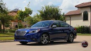 2017 Subaru Legacy Sport Test Drive