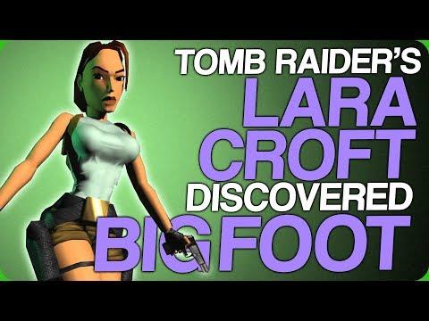 Tomb Raider S Lara Croft Discovered Bigfoot Unrealistically Weak