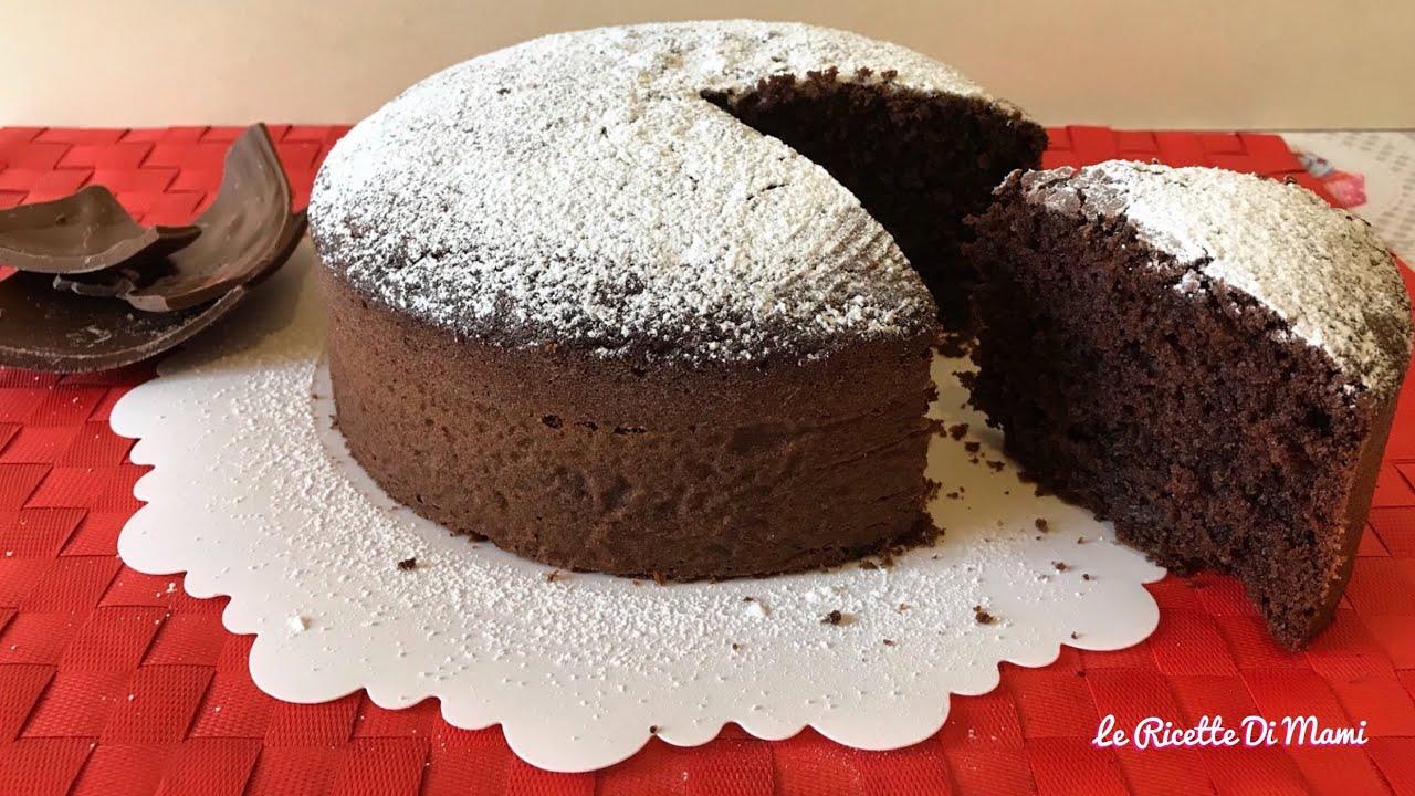 Torta Al Cioccolato Con Acqua.Torta All Acqua E Cioccolato Altissima Sofficissima Senza Burro Ricetta Riciclo Uova Di Pasqua 4k