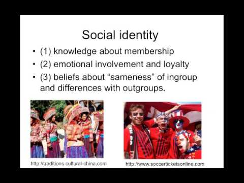 personal and social identities Social identity theory, in social psychology, the study of the interplay between personal and social identities social identity theory aims to specify and predict the circumstances under which individuals think of themselves as individuals or as group members.