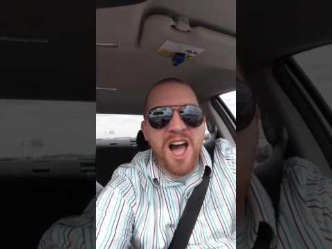 """Car Karaoke 1 AJR """"Weak"""""""