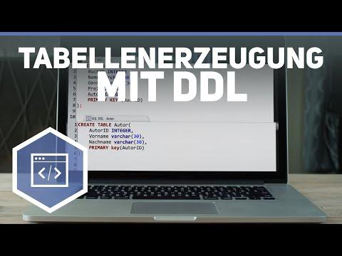 SQL Tabellenerzeugung mit DDL - SQL 2 ● Gehe auf SIMPLECLUB.DE/GO & werde #EinserSchüler